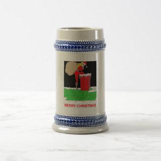 bolso femenino del tejado de santa jarra de cerveza