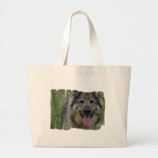 Bolso finlandés de la lona de Lapphund Bolsa De Mano