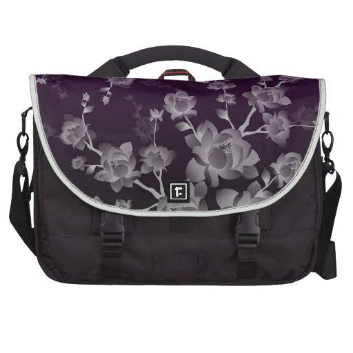 Bolso floral de lujo del ordenador portátil de la  bolsas para ordenador