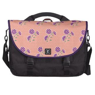 Bolso floral del ordenador portátil del batik de T Bolsas Para Portatil