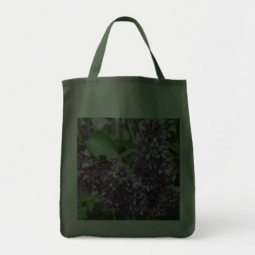Bolso floral del regalo de las lilas frescas bolsa