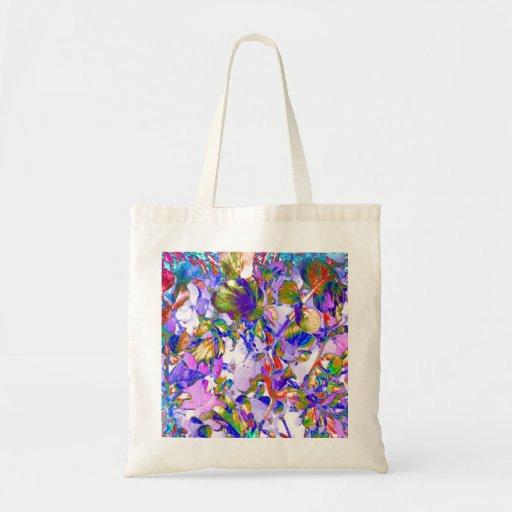Bolso floral del regalo del tote del arte del extr bolsa
