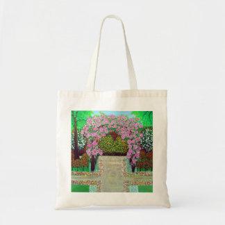 Bolso floral hermoso de la arcada bolsa tela barata