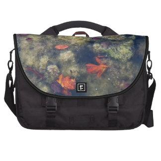 Bolso flotante del ordenador portátil de las hojas bolsas de portatil