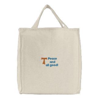 Bolso franciscano bolsas de mano bordadas