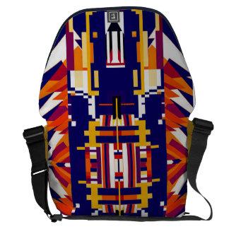 Bolso geométrico magnífico de la forma de vida del bolsas messenger