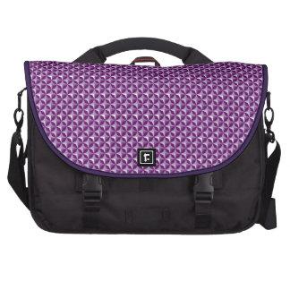 Bolso geométrico púrpura del ordenador portátil bolsas para portatil