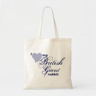 Bolso gigante británico del conejo bolsa
