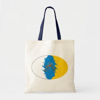 Bolso Gnarly de la bandera de las islas Canarias