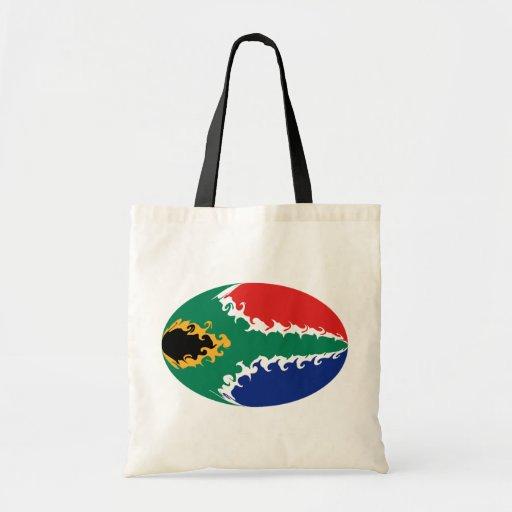 Bolso Gnarly de la bandera de Suráfrica Bolsas Lienzo