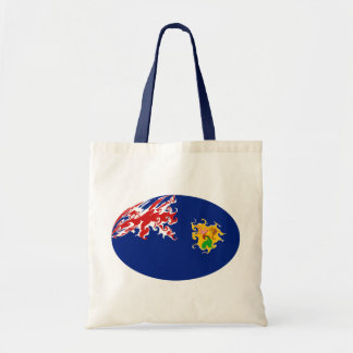 Bolso Gnarly de la bandera de Turks and Caicos Isl Bolsa Tela Barata