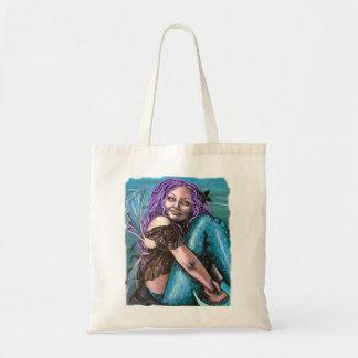 bolso gótico de las ilustraciones de la sirena bolsas