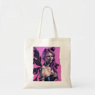 bolso gótico de las ilustraciones del faery de la  bolsas lienzo