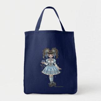 Bolso gótico de Lolita del flor Bolsa Tela Para La Compra