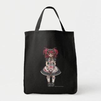 Bolso gótico sangriento de Lolita Lolita Bolsa Tela Para La Compra