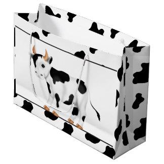 Bolso grande del regalo de la vaca del país bolsa de regalo grande