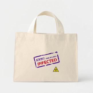 Bolso - gripe de los cerdos infectada bolsa