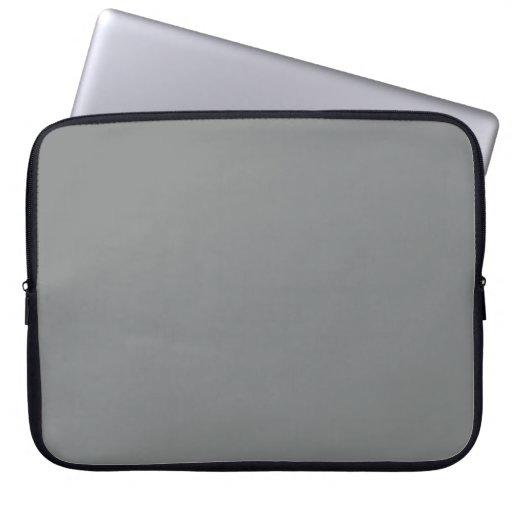 Bolso gris de la electrónica de la manga del orden fundas computadoras
