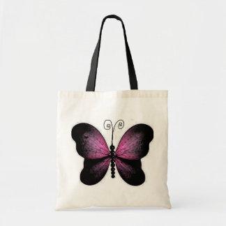 Bolso hermoso de la mariposa bolsas