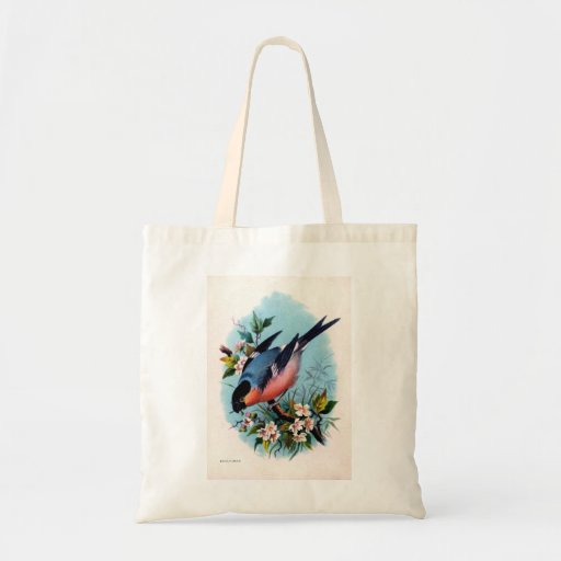Bolso hermoso retro del pájaro del vintage bolsa tela barata