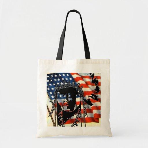 Bolso indio americano bolsas lienzo