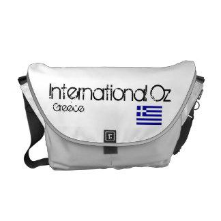 Bolso internacional del viaje de la onza Grecia Bolsas De Mensajería