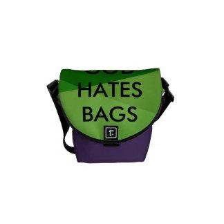 bolso irónico #1 bolsas de mensajeria
