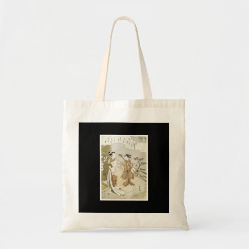 Bolso japonés antiguo del arte bolsas de mano