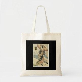 Bolso japonés antiguo del arte bolsa tela barata
