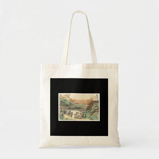 Bolso japonés antiguo del arte bolsas