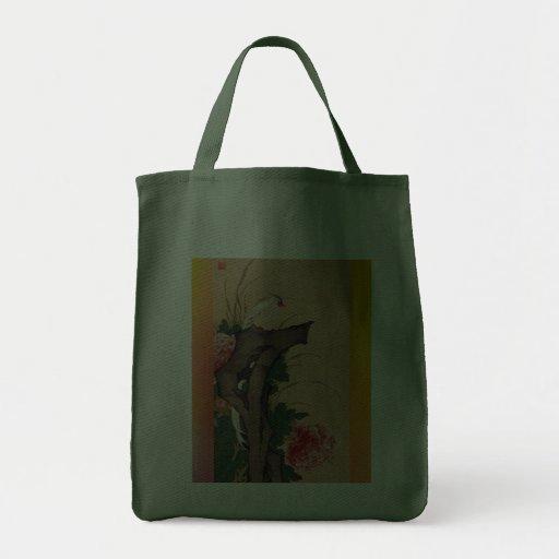 Bolso japonés del arte bolsa tela para la compra