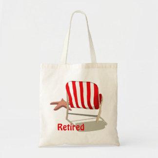 Bolso jubilado de la silla de playa bolsa tela barata
