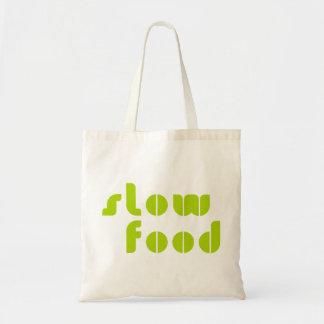 Bolso lento de la comida bolsas