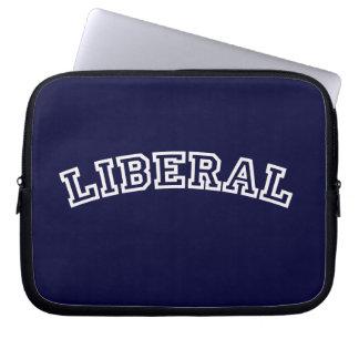 Bolso liberal del ordenador portátil fundas computadoras
