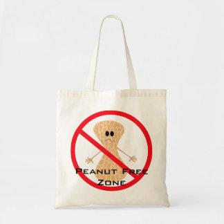 Bolso libre de la alergia del cacahuete bolsa tela barata