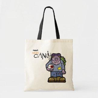 Bolso lindo de Frankenstein Halloween Bolsas De Mano
