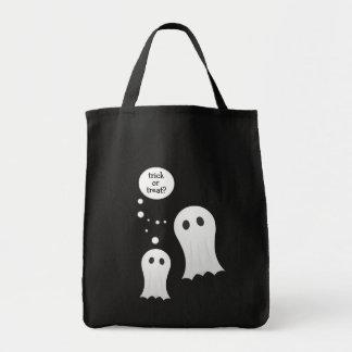 Bolso lindo de Halloween de los fantasmas Bolsa Tela Para La Compra