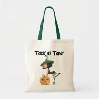 Bolso lindo de la bruja de Halloween