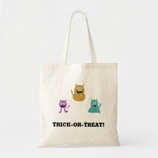 Bolso lindo de la invitación de Halloween de los m Bolsa Tela Barata