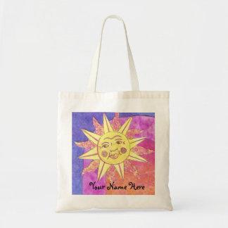 bolso lindo de la playa del sol/bolso de compras bolsa tela barata