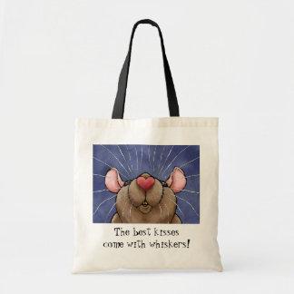 Bolso lindo de la rata bolsas