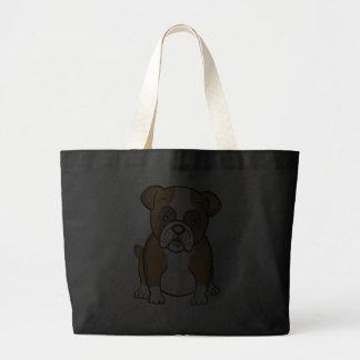 Bolso lindo del dogo del dibujo animado bolsa de mano