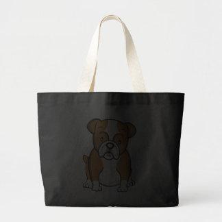 Bolso lindo del dogo del dibujo animado bolsas