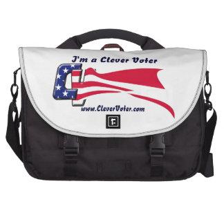 Bolso listo del ordenador portátil del votante bolsas de ordenador