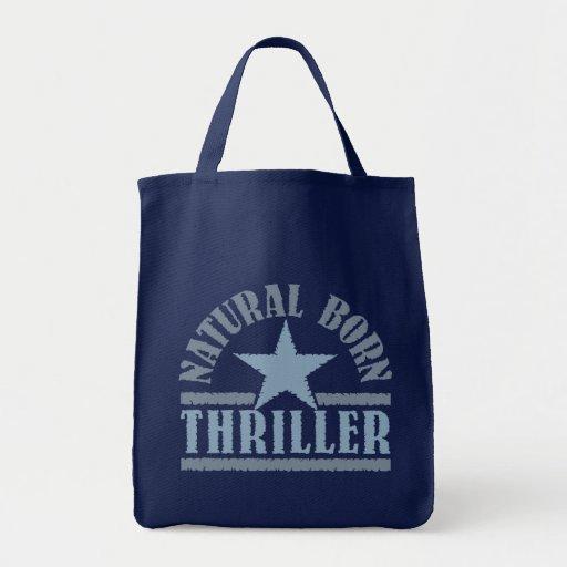 Bolso llevado natural de la novela de suspense - e bolsas