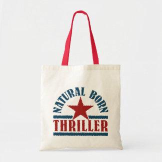 Bolso llevado natural de la novela de suspense - e bolsa tela barata
