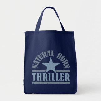 Bolso llevado natural de la novela de suspense - e bolsa tela para la compra