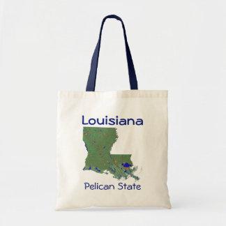 Bolso Louisianan del mapa Bolsa
