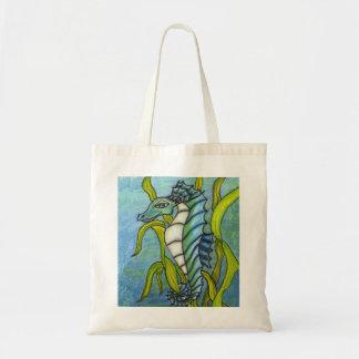 Bolso mágico del dragón del caballo de mar bolsa tela barata