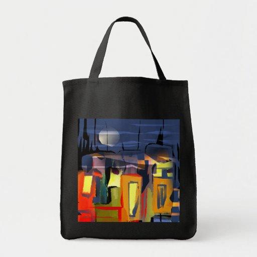 bolso maravilloso de la ciudad bolsas de mano